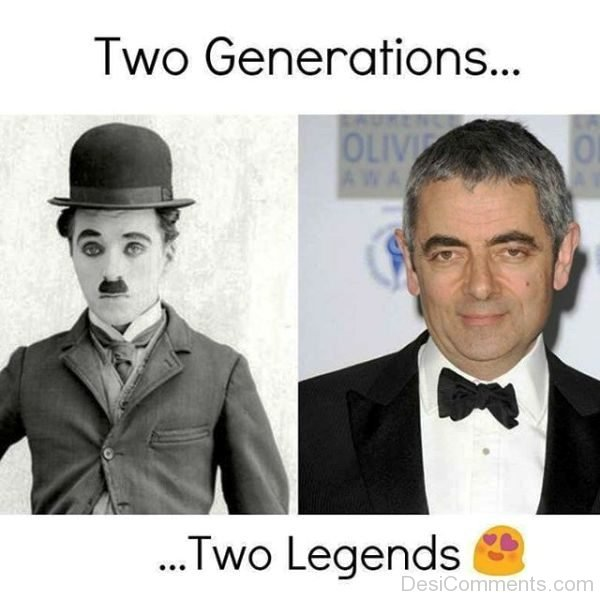 Two Generations Two Legends