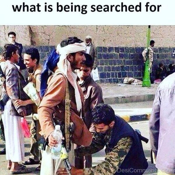 What Is Being Searched For