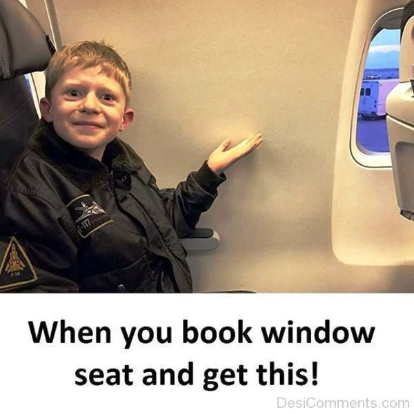 When You Book Window Seat