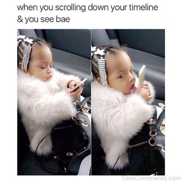 When You Scrolling Down