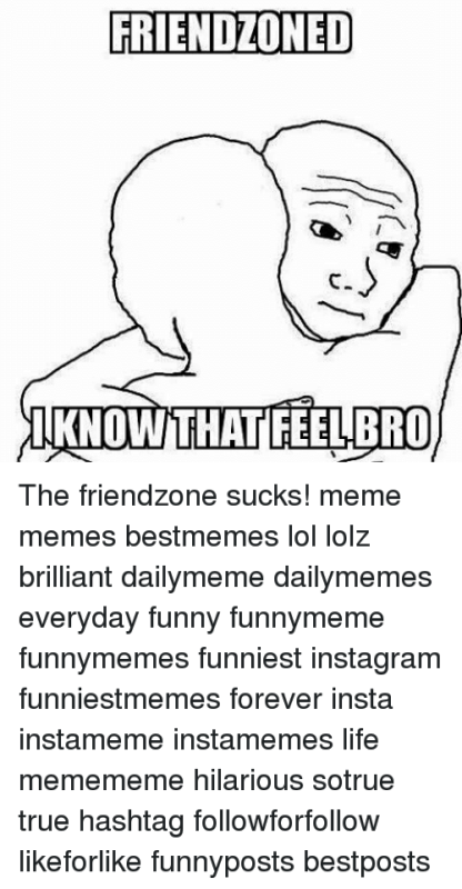 Friendzoned I Know That Feel Bro