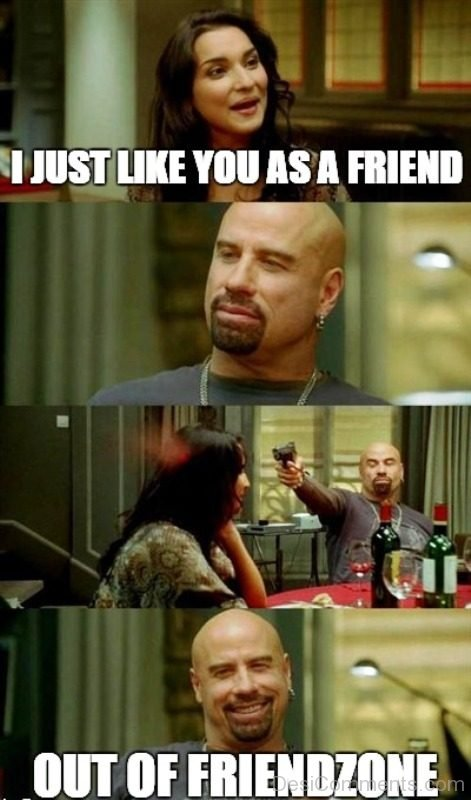 I Just Like You As A Friend