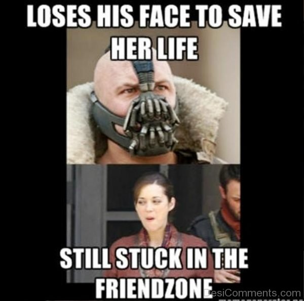 Loses His Face To Save Her Life