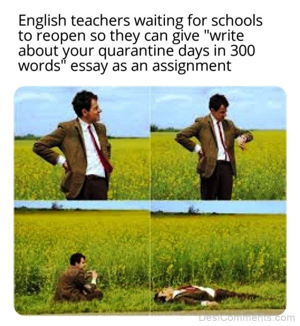 English Teachers Waiting