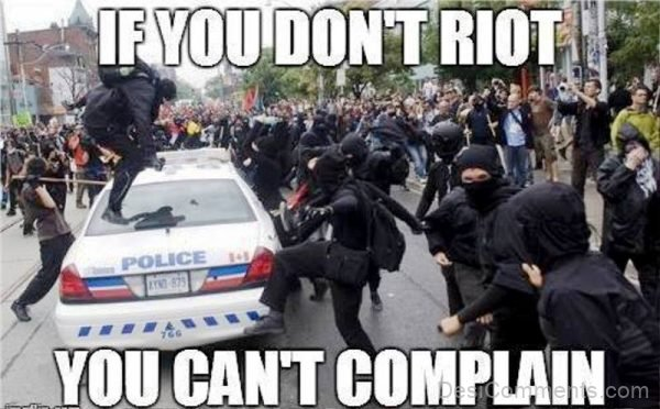 If You Don't Riot