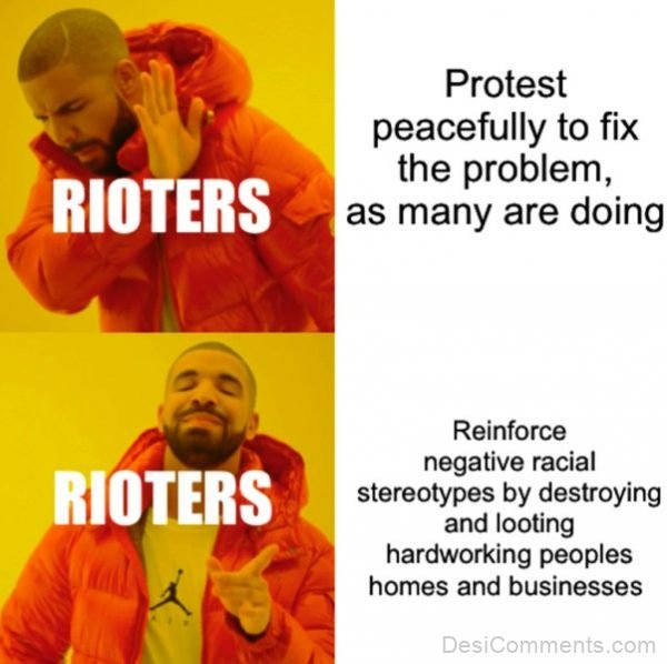 Protest Peacefully To Fix