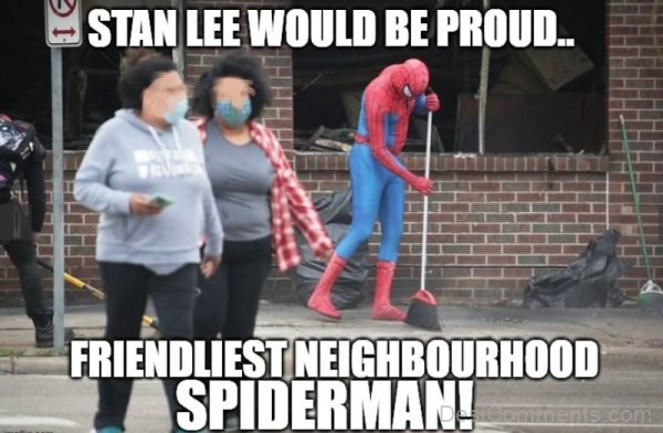 Stan Lee Would Be Proud