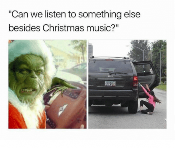 Can We Listen To Something Else