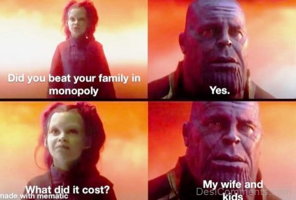 Did You Beat Your Family