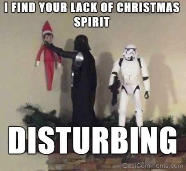 I Find Your Lack Of Christmas