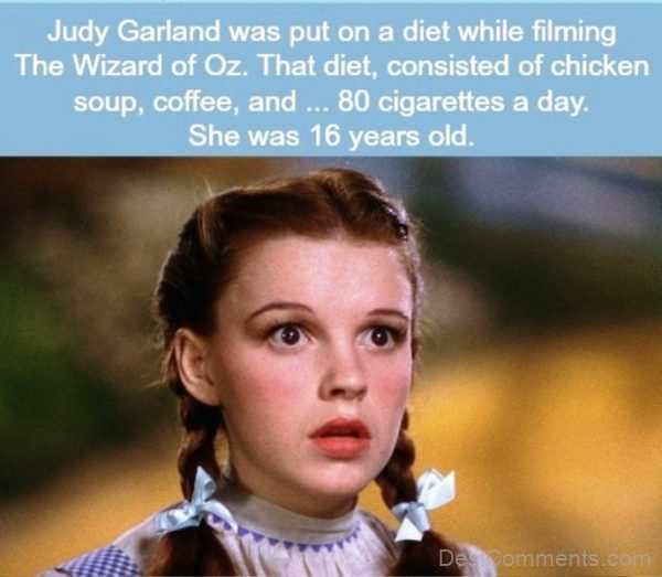 Judy Garland Was Put