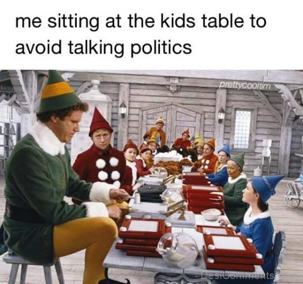 Me Sitting At The Kids