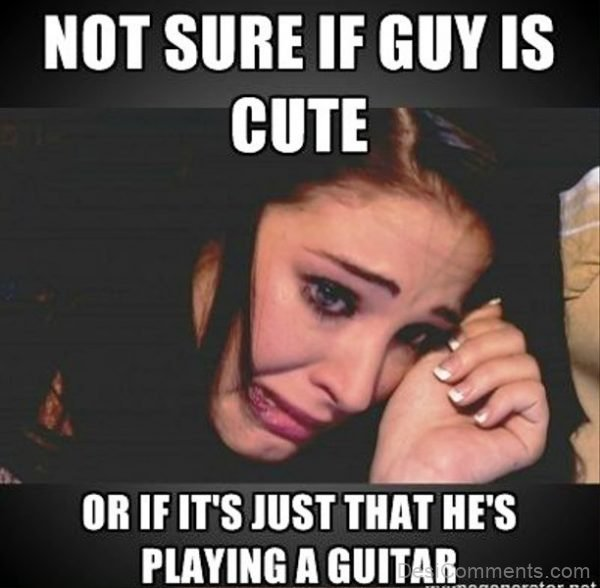 No Sure If Guys Is