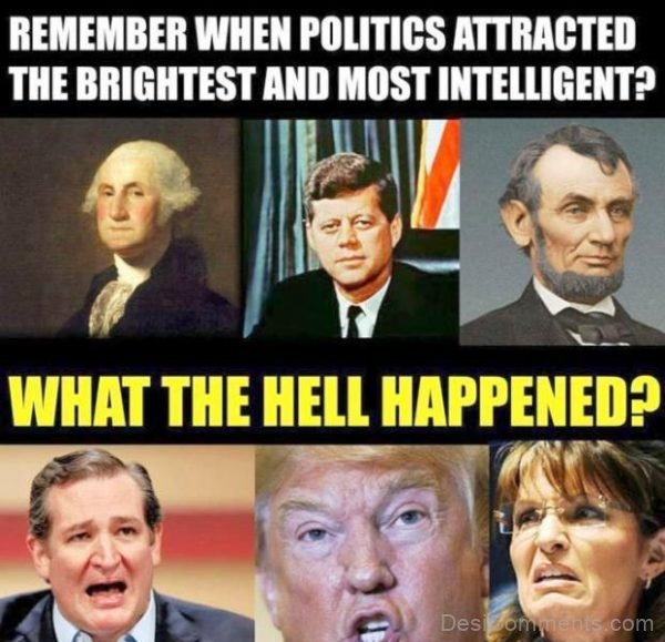 Remember When Politics Attracted