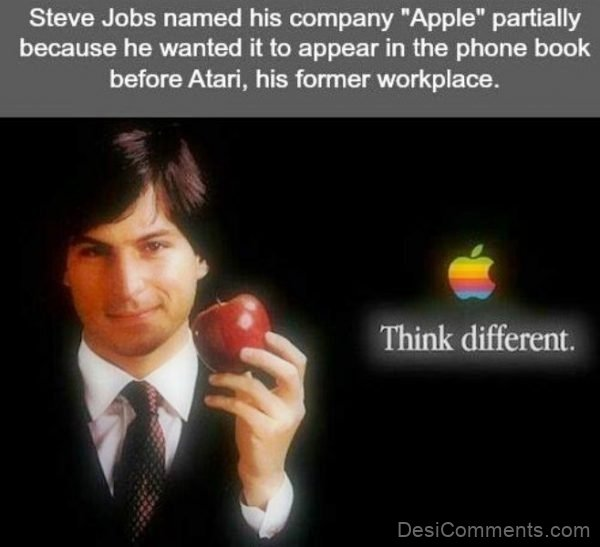 Steve Jobs Named His Company
