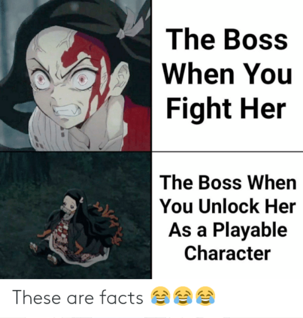 The Boss When You Fight Her