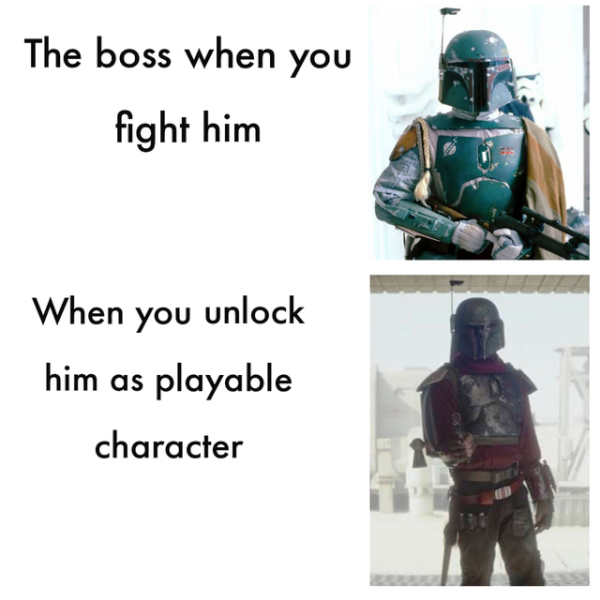 The Boss When You