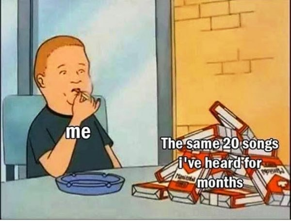 The Same 20 Songs