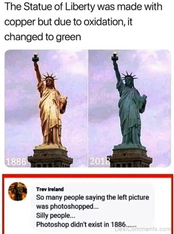 The Statue Of Liberty Was Made