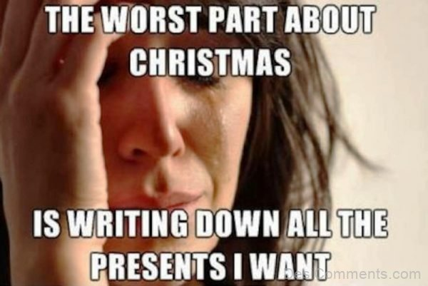 The Worst Part About Christmas