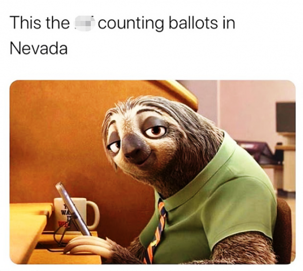 This The Counting Ballots In Nevada