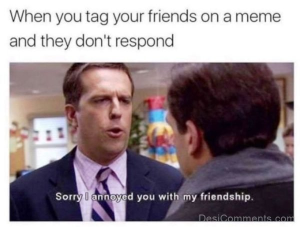 When You Tag Your Best Friends