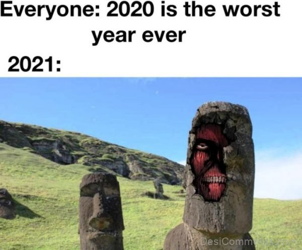 2020 Is The The Worst Year