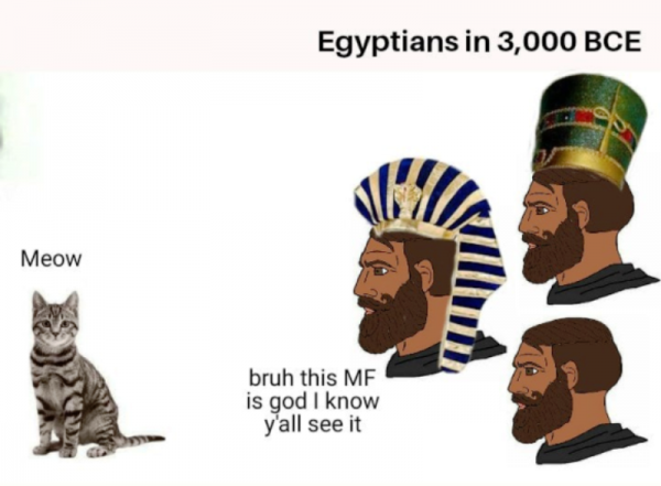 Egyptians In 3000 BCE