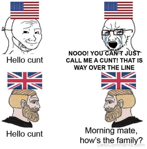 Hello Cunt