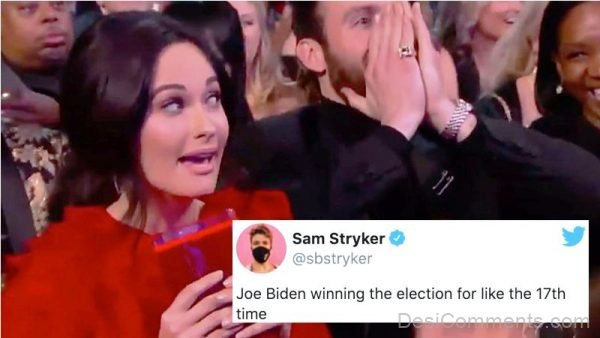 Joe Biden Winning The Election