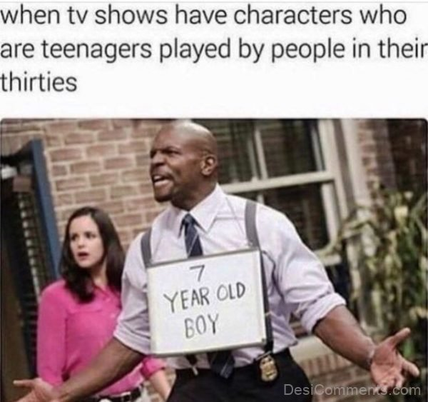 When Tv Shows Have Characters