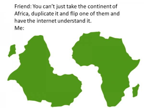 You Can't Just Take The Continent