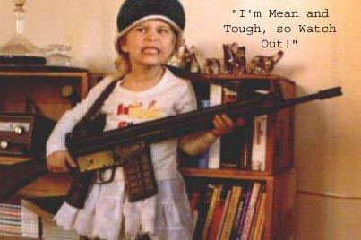 I Am Mean And Tough, So Watch Out!
