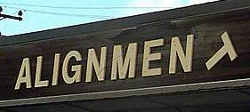 AlignmenT Sign