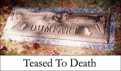 Teased To Death