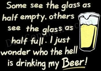 Alcohol Graphic - A Glass of beer
