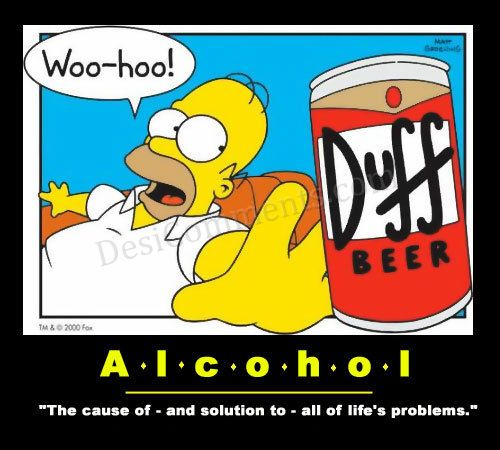 Alcohol Graphic - problems solution