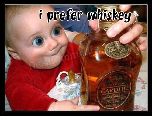 Alcohol Graphic - I Prefer Whiskey