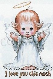 Picture: Angel say love u