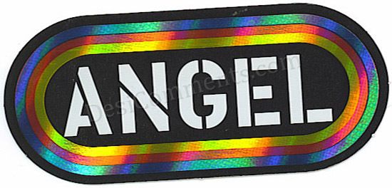 Colorful Angel Graphic