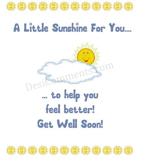 Get Well Soon Graphic #27