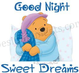 Pooh good night