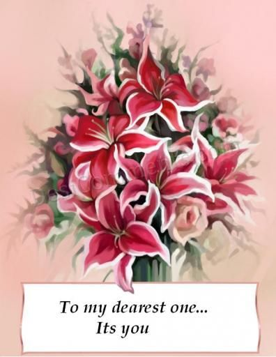 Picture: To My Dearest One