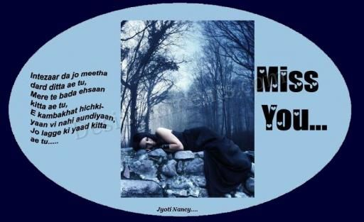 Picture: Miss You So Much
