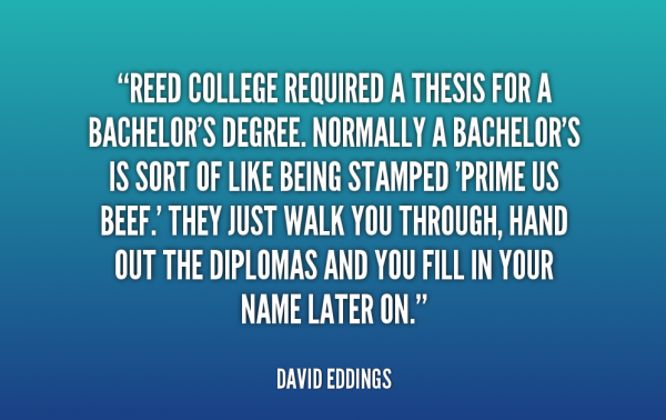 A Bachelor's Degree