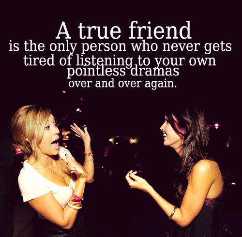 A ture friend quotes