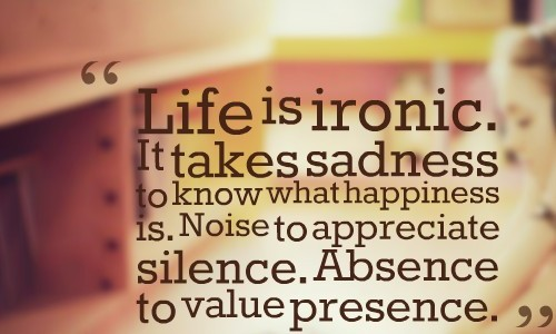 Absence to value presence
