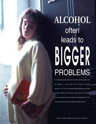 Alcohol often leads to bigger problems