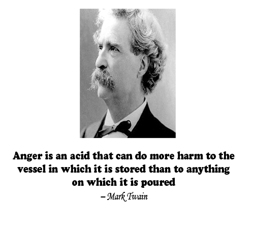 Anger Is An Acid