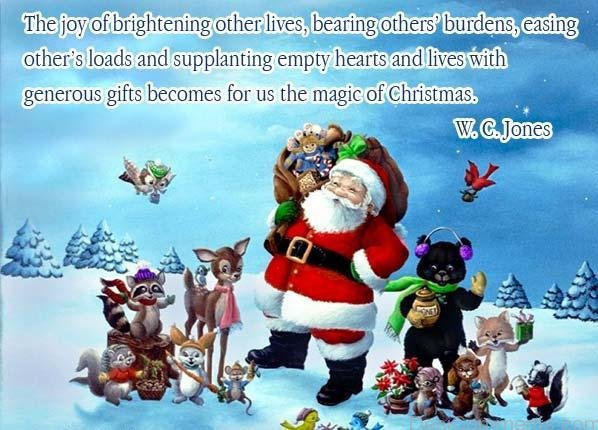 Christmas Is The Day Of  Magic